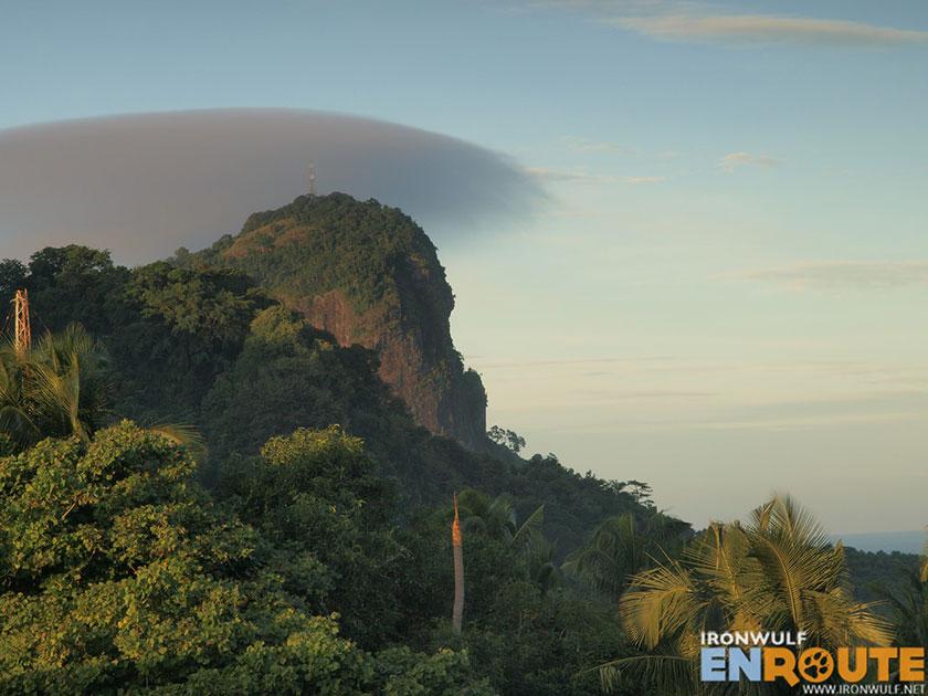 Bud Bongao Peak from afar