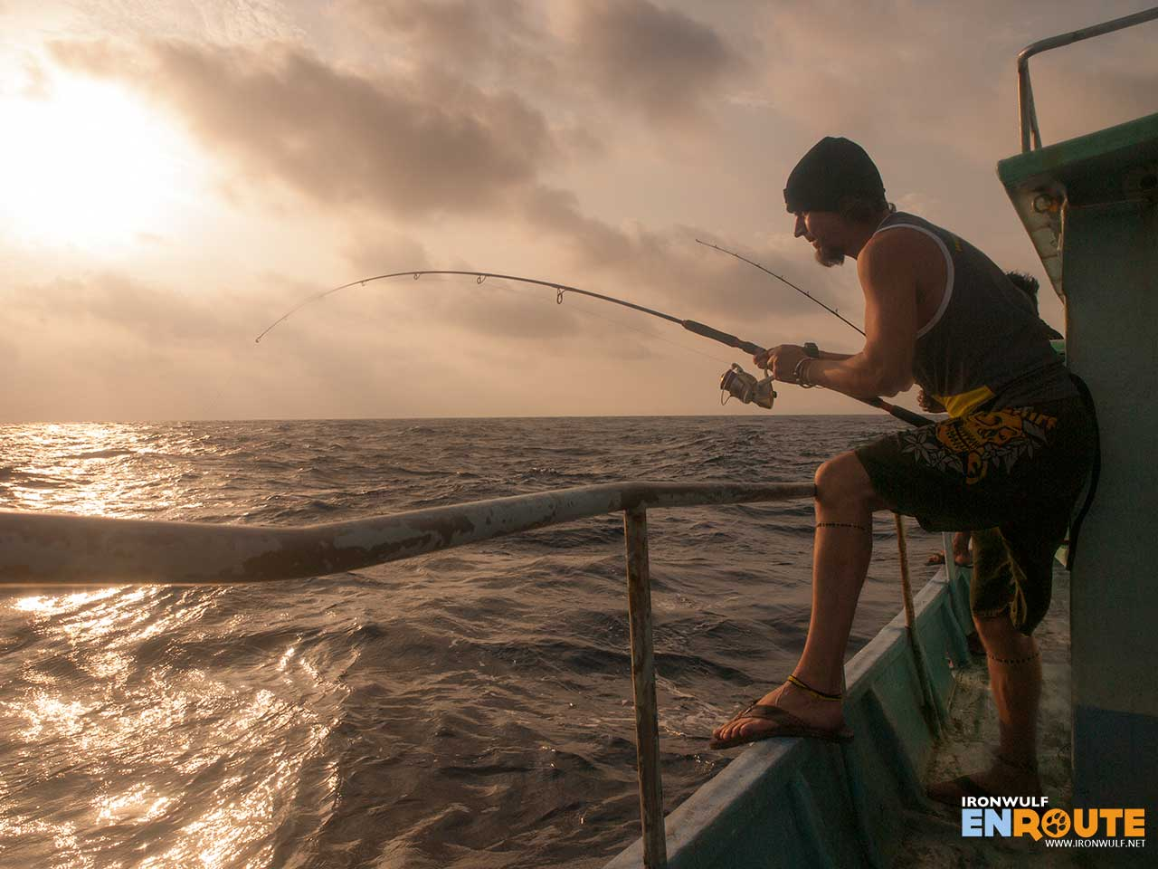 Deep sea fishing in Batanes at Bagong Tuklas