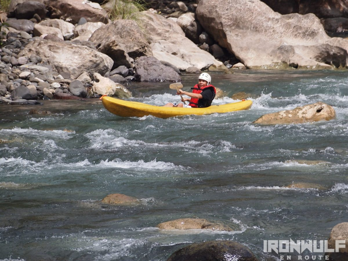 Tibiao Whitewater kayak