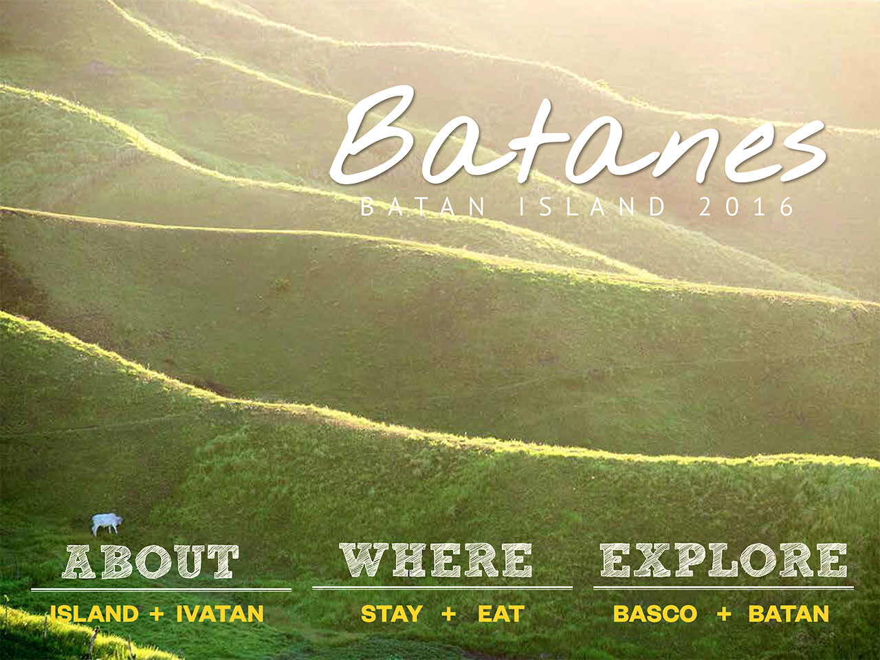 The Batanes Travel Guide Batan Island 2016 Edition
