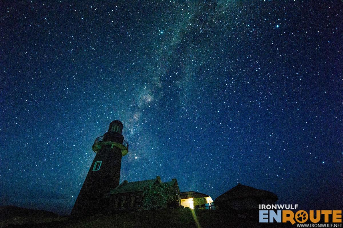 Milky way over Sabtang Lighthouse