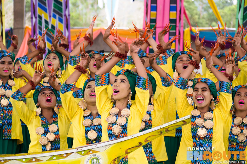 Contingent from Simunul with their captivating number at the recent Agal-agal Festival 2017