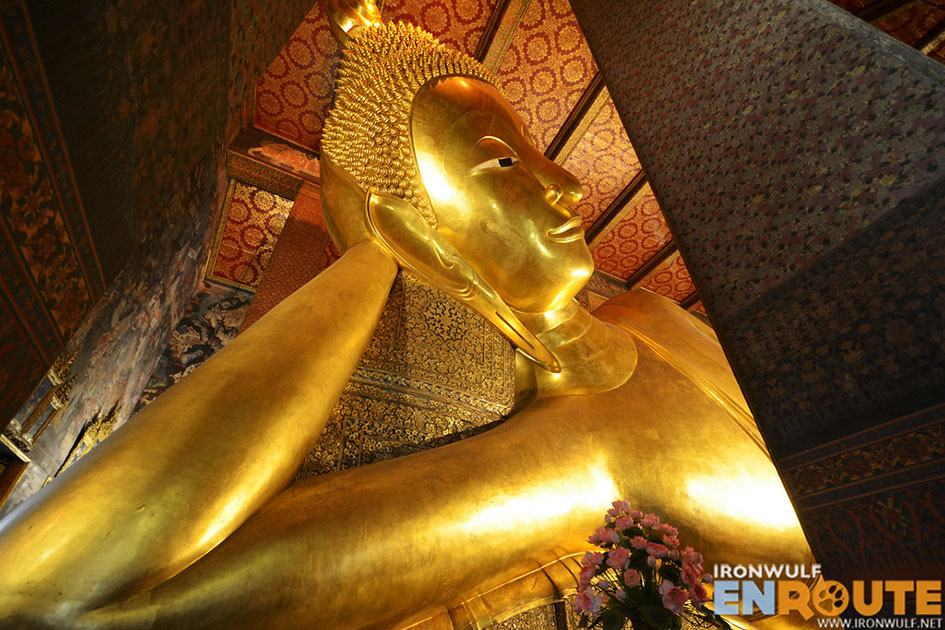 The Giant Reclining Buddha at Wat Pho