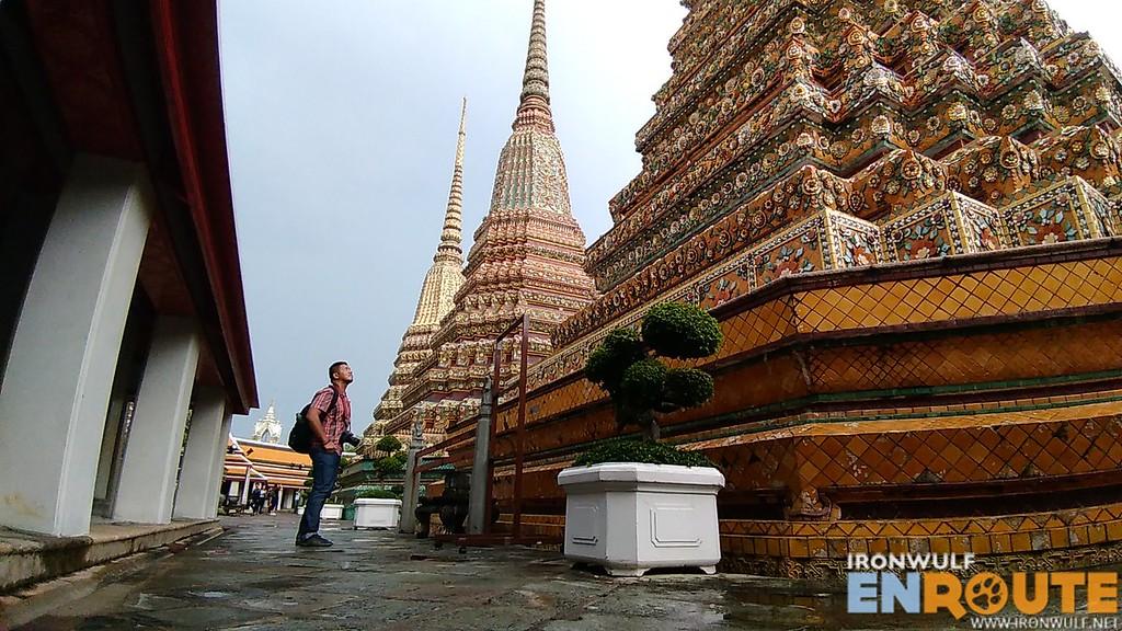 Exploring Wat Pho temple in Bangkok