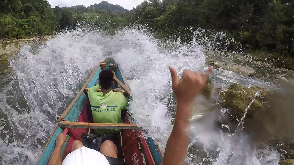 Splashing good time at Ulot River