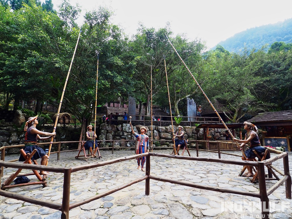 A traditional game from Formosan aboriginal people