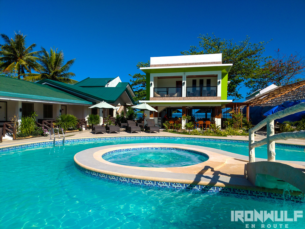 The New Beach Head Resort pool