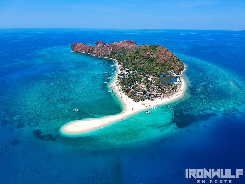 Mararison Island aerial view