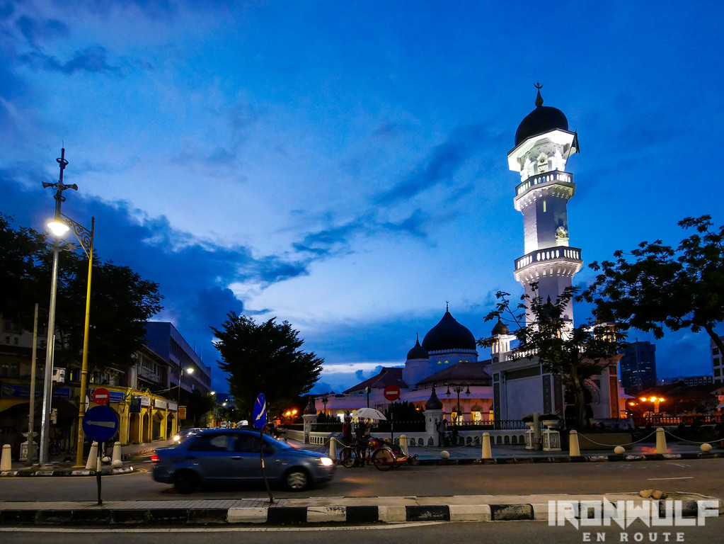 The Kapitak Keling Mosque along the Street of Harmony