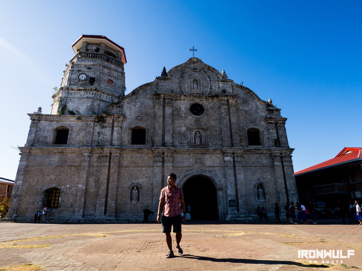 Santa Monica Church in Capiz