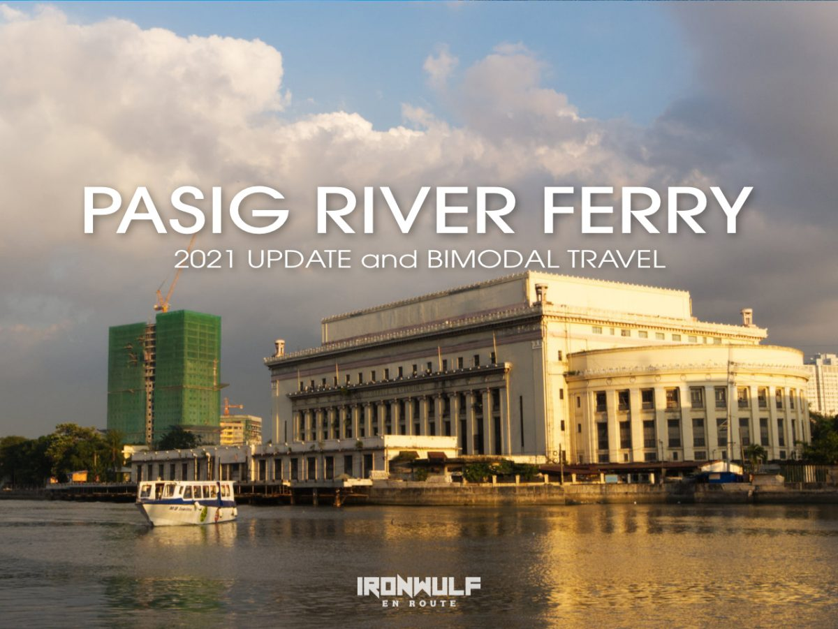 Pasig River Ferry at Escolta