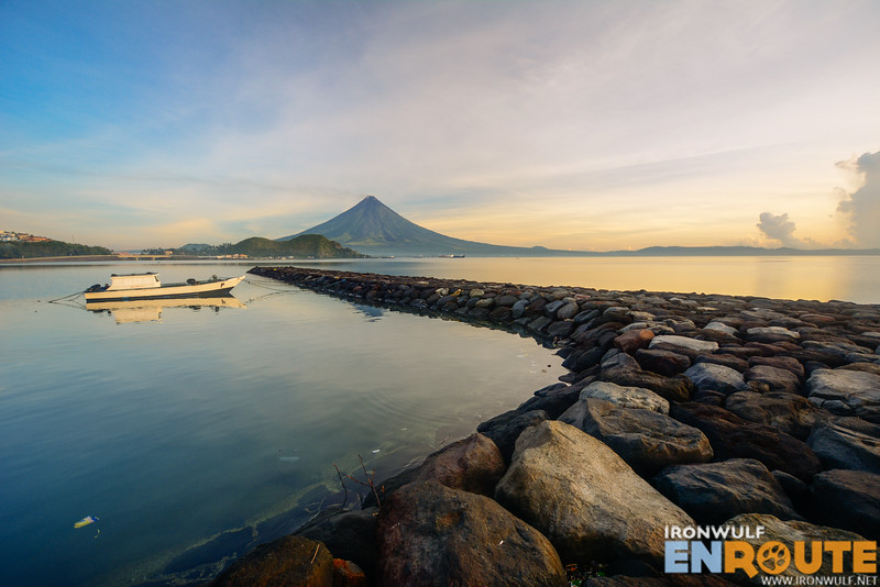 Mt Mayon at the Albay Gulf