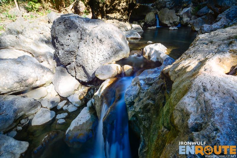 The upper layer of Tuburan Falls
